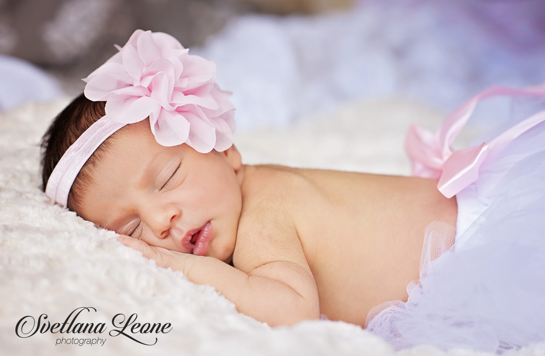 Palm Beach Gardens Newborn Photographer: Welcome to the world Baby Sofia