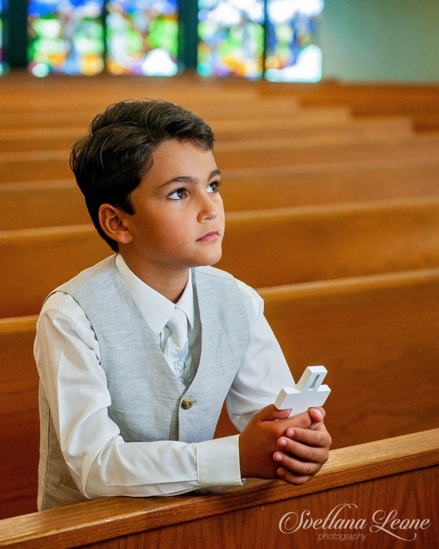 Jupiter Family Photographer: Derek's First Communion