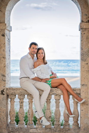 Palm Beach Photographer: Happy couple Ljupka&Alex
