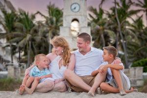 Palm Beach Photographer: Jacqueline & Kevin with boys